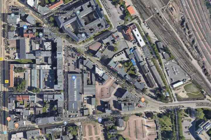 Die Auseinandersetzung ereignete sich in der Rudolf-Ernst-Weise-Straße nahe des Hauptbahnhofs.
