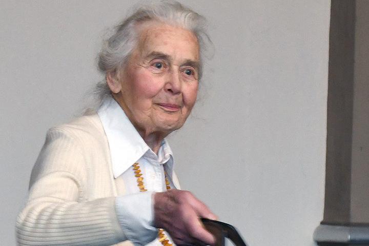 Zuletzt wurde Ursula Haverbeck zu zwei Jahren Gefängnis verurteilt.