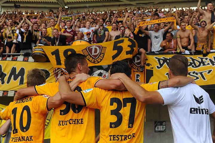 Die Dynamo-Fans machten 2016 ebenso einzigartig wie die Spieler.