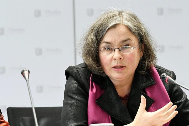 Kämpft für die Erweiterung des denkmalgeschützten Blüherparks: Umweltbürgermeisterin Eva Jähnigen (51, Grüne).