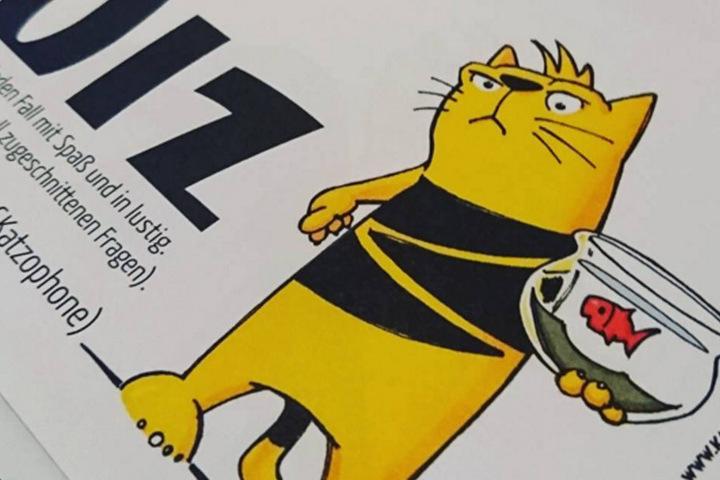 Beim Kneipenquiz mit Katze könnt Ihr richtig abräumen!