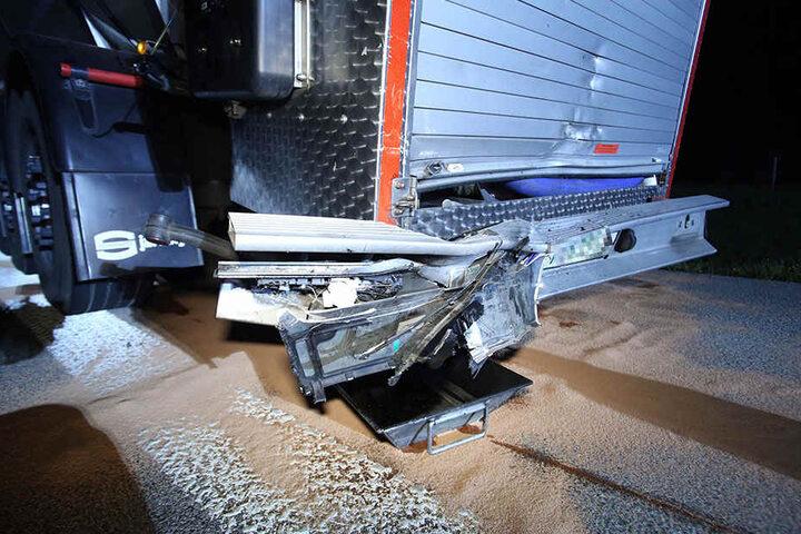 Am Sattelzug entstand ein Schaden in Höhe von etwa 50.000 Euro.