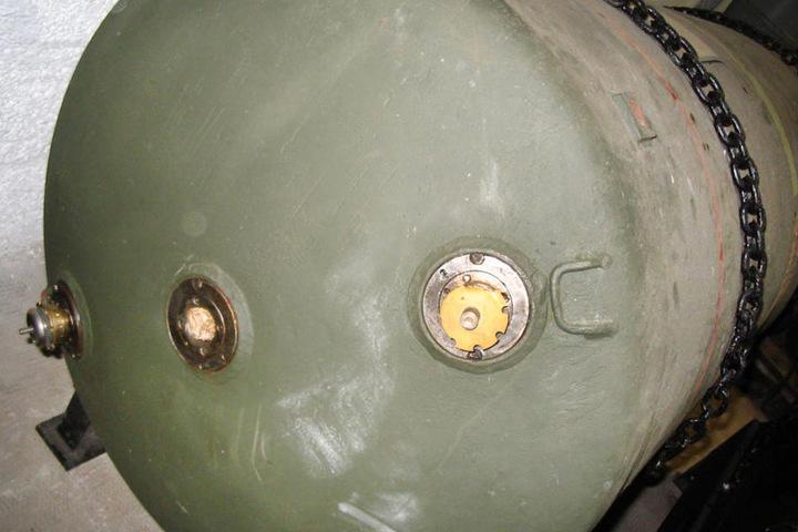 Eine Luftmine von Typ HC 4000, wie auch die gefundene Bombe in Frankfurt.