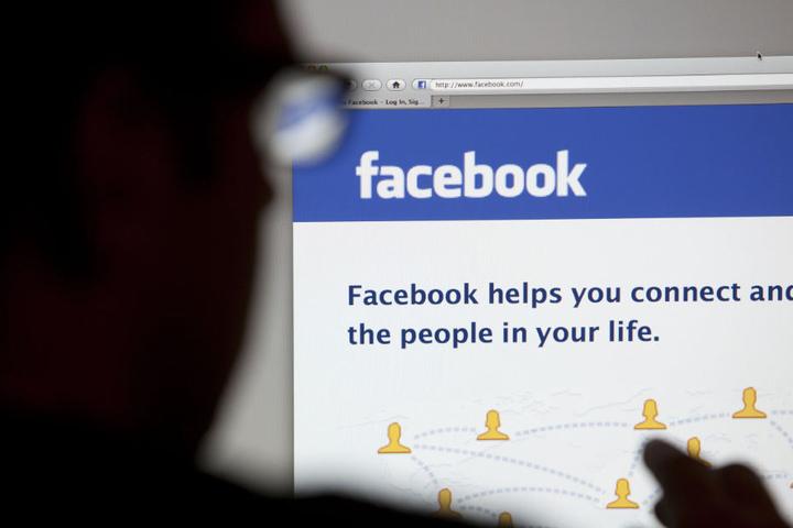 Auf Facebook ließ er seiner Gesinnung freien Lauf. (Symbolbild)
