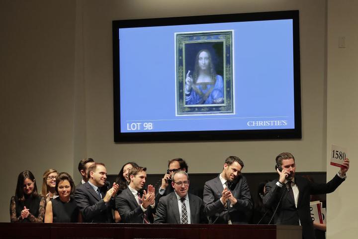 Kritiker zweifeln an der Echtheit des Gemäldes und bezeichnen es als die männliche Mona Lisa.
