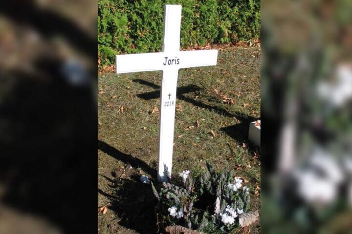 Das Grab von Joris.