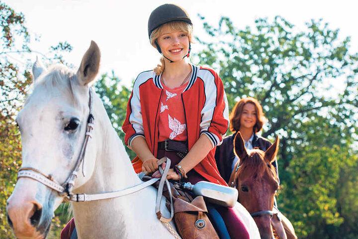 In der Rolle als kleine Hexe Bibi Blocksberg feierte Lina Erfolge auf der Kinoleinwand.