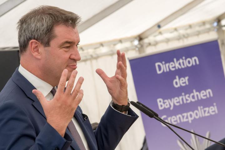 Markus Söder will mit der bayerischen Grenzpolizei neue Wege gehen.