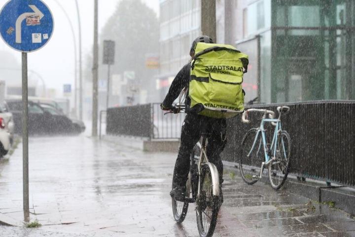 Es muss weiterhin mit Regenschauern gerechnet werden.