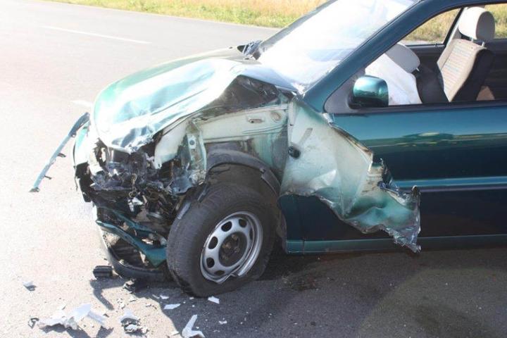 An dem VW-Polo entstand ein Totalschaden.
