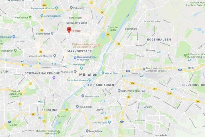 Im Nordbad in München ist es am Wochenende in Bayern zu einem Zwischenfall gekommen.