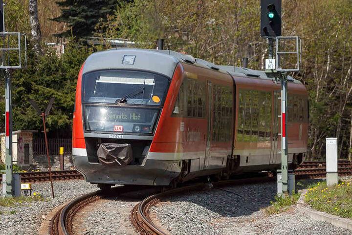 Alles dreht sich im Erzgebirge um die Bahn: Mit einem Schienen-Forschungsprojekt möchte sich die TU Chemnitz in Annaberg-Buchholz etablieren.