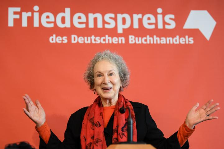 Margaret Atwood bekam den Friedenspreis des Deutschen Buchhandels.