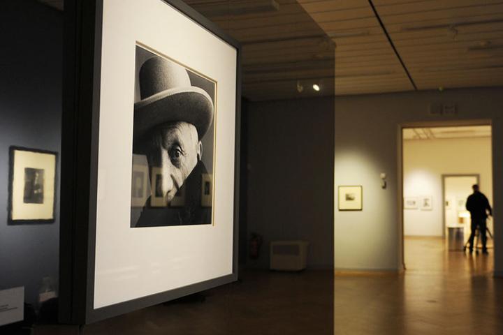 Das von Irving Penn fotografierte Porträt Pablo Picassos. (Archivbild)