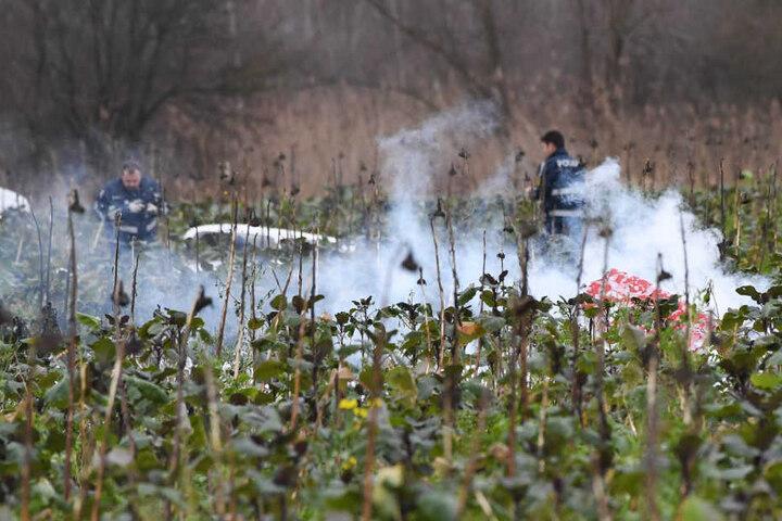 Das Unglück ereignete sich am Dienstag im Kreis Karlsruhe.