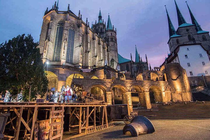 Der Troubadour ist derzeit das angesagte Highlight in Erfurt.
