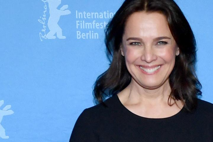"""Berlinale Series """"Bad Banks"""" im Zoo Palast mit Schauspielerin Desiree Nosbusch."""
