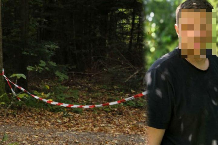 Der 50-jährige Simon P. war Jäger und wurde Anfang Oktober 2018 tot von einem Waldarbeiter aufgefunden. (Fotomontage)
