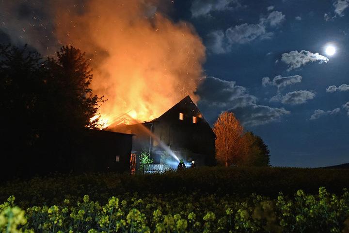 Die Brandursache ist noch unklar.
