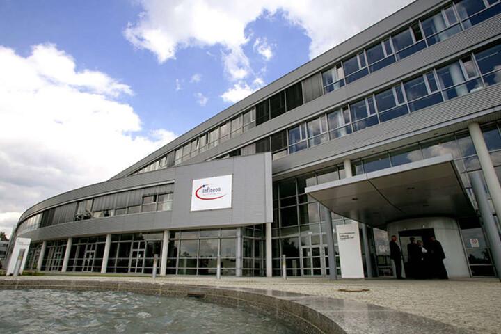 Infineon Dresden ist einer der größten Arbeitgeber der Stadt. Hier werden  z.B. Chips für Smartphones hergestellt.