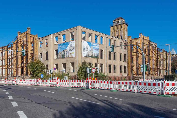 Investoren haben den Sonnenberg für sich entdeckt: Eine Leipziger Firma saniert derzeit Ruinen auf der Humboldthöhe zu Luxuswohnungen.