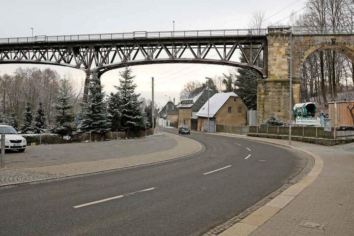 Von 2019 bis 2022 wird das Rabensteiner Viadukt saniert.
