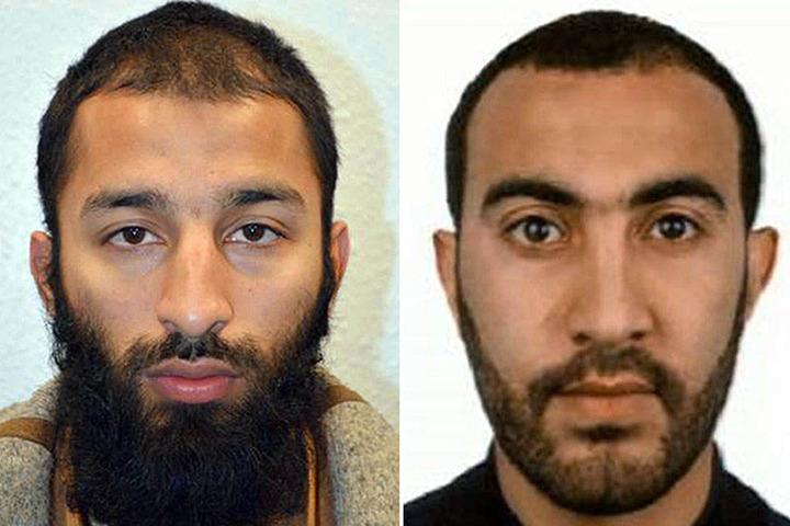 Mittlerweile wurden auch zwei mutmaßliche Attentäter identifiziert: Khuram Shazad Butt (l.) und Rachid Redouane.