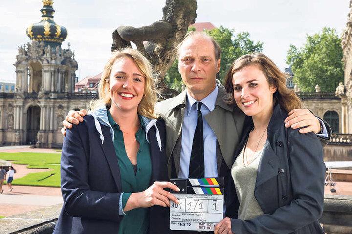 Am 21. Mai ermitteln sie das letzte Mal gemeinsam: Alwara Höfels (36), Martin Brambach (50) und Karin Hanczewski (36).