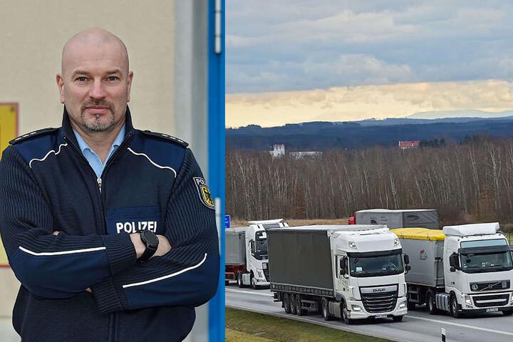 """Polizeihauptkommissar Michael Engler (47) sagt über die Bundespolizisten der Inspektion Ludwigsdorf: """"Wir sind Urkundenspezialisten."""""""