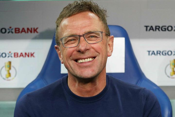Kann mit RB Leipzig bei einem Sieg gegen den SCF die Königsklasse fest machen: Trainer Ralf Rangnick.