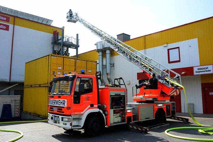Ein technischer Defekt löste den Brand aus.