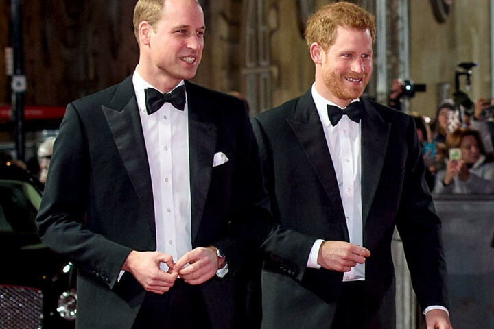 Nun ist bekannt: Prinz William wird Harrys Trauzeuge.