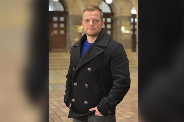 Stadtrat Michael Specht (34, CDU) fordert schwächere Böller, um das Feuerwerk zu reduzieren.