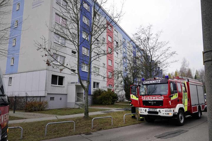 Die Feuerwehr musste in die Johannes-Dick-Straße ausrücken.