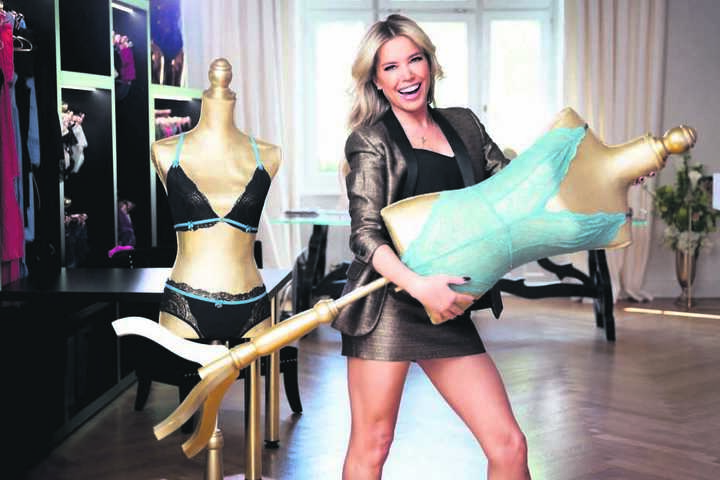 """Am Mittwoch startet Ballmoderatorin Sylvie Meis (49) mit ihrer TV-Show """"Sylvies Dessous Models"""" auf RTL."""