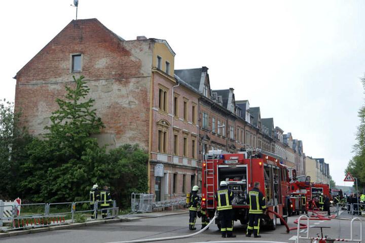 Mehrere Freiwillige Feuerwehren waren bei dem Brand im Einsatz.