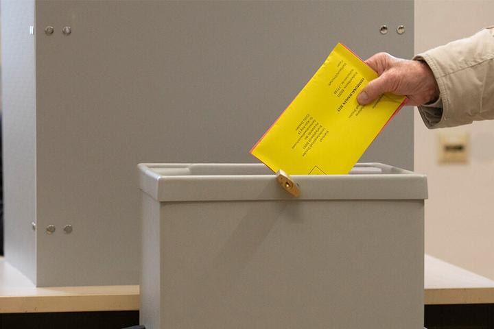Noch eine Woche, dann dürft Ihr die Wahlzettel in die Urne stecken.