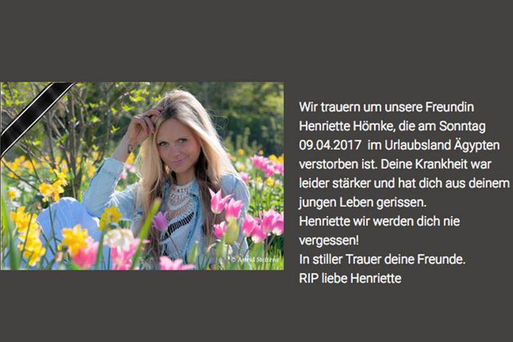 Miss Sachsen Tot