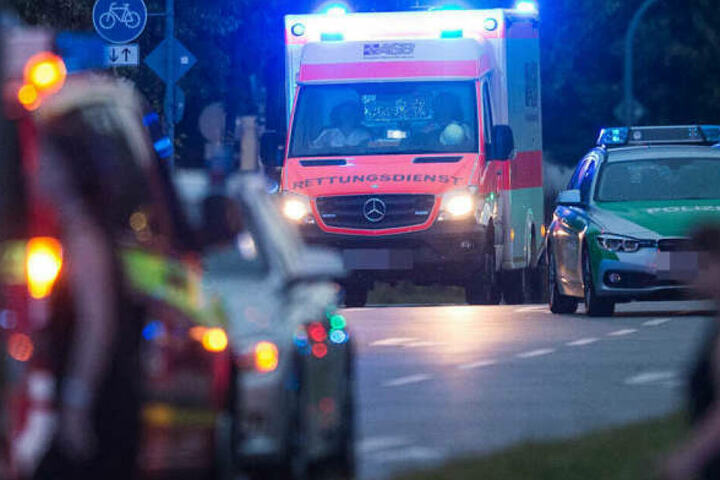 Die Frau musste in einem Krankenhaus medizinisch behandelt werden.