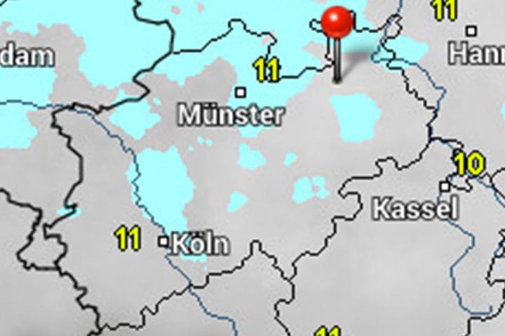 Unwetterwarnung vor Sturm-Orkan für Sachsen