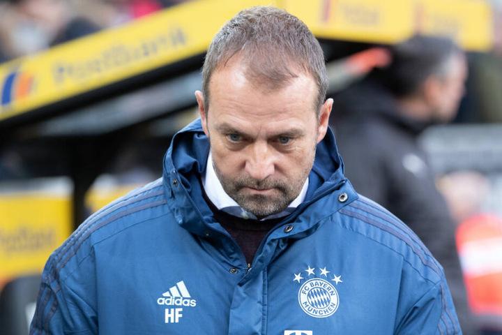 Hansi Flick, Cheftrainer des FC Bayern.