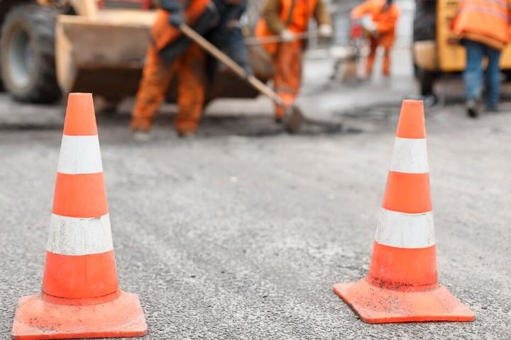 Wegen Bauarbeiten ist die Strecke mehrere Tage dicht. (Symbolbild)