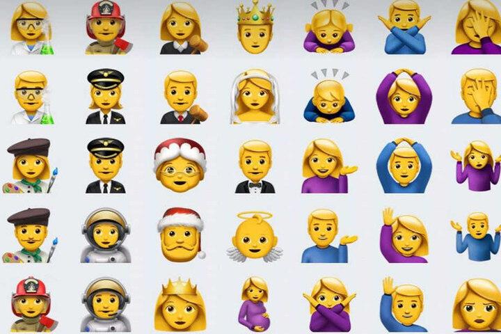 Egal ob schwanger oder Facepalm, die neuen Emojis sind auf jeden Fall ein Hingucker.