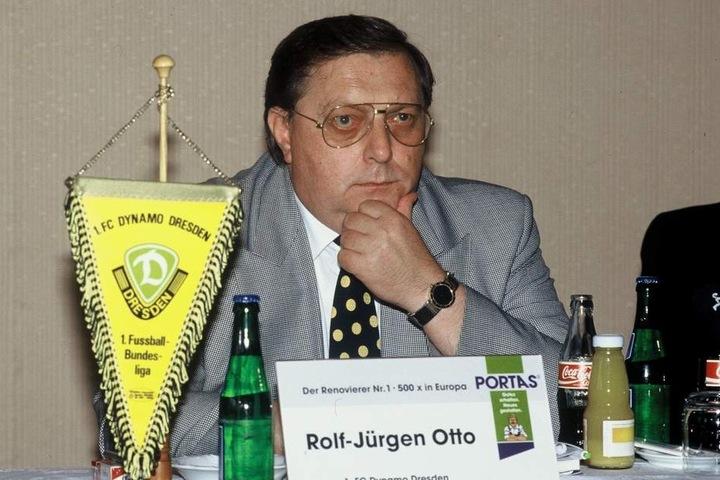 Rolf-Jürgen Otto, der einst mächtige Dynamo-Präsident.