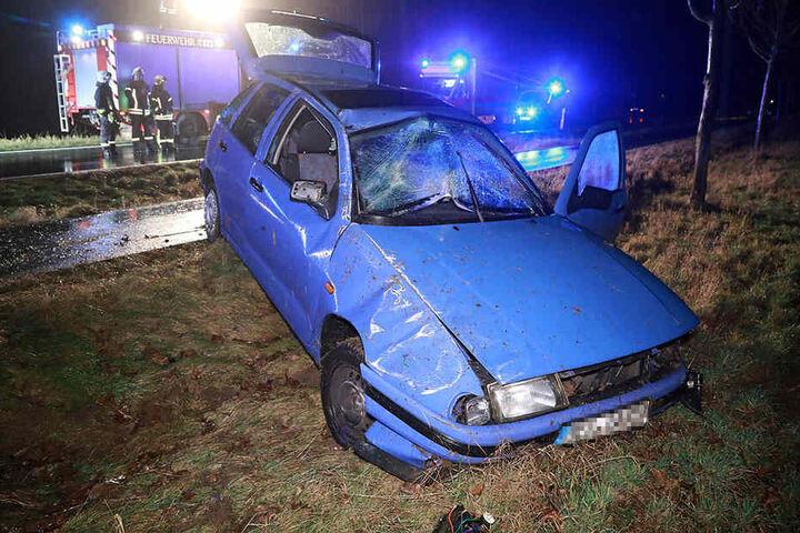 Der Fahrer des Wagens musste ins Krankenhaus.