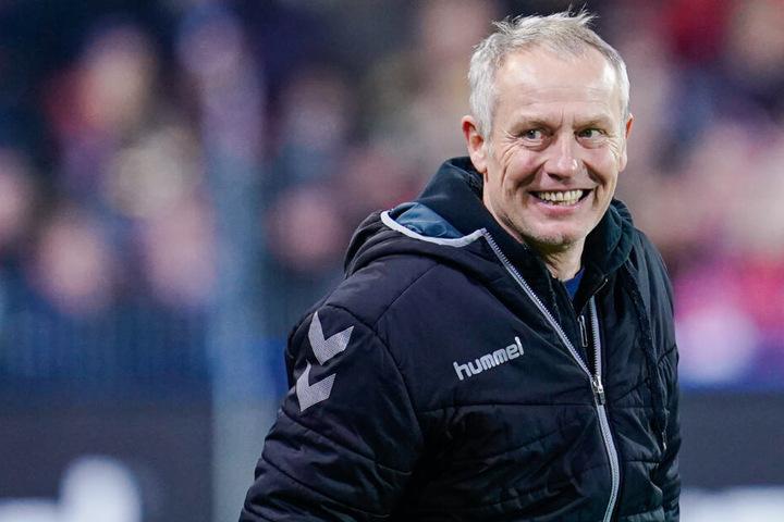 SC Freiburg-Trainer Christian Streich ist immer für einen guten Spruch bei Pressekonferenzen zu haben.