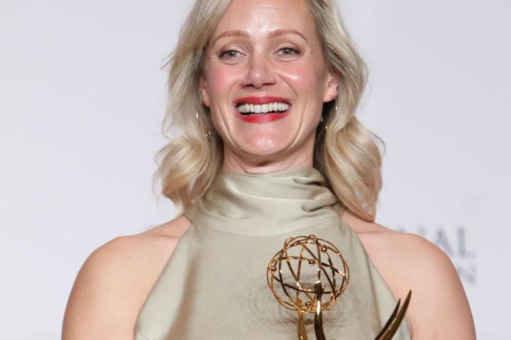 Schauspielerin Gaby Schudt dankte auch Gaby Köster.