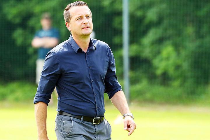 """CFC-Sportchef Thomas Sobotzik fordert vom Bergner-Team vollste Konzentration. Denn: """"Für die Erfolge von gestern können wir uns nichts mehr kaufen!"""""""
