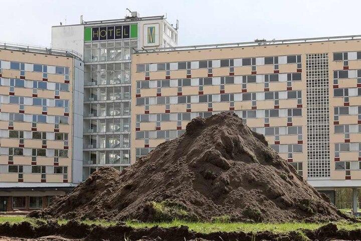 Der Abriss des Gebäudes wurde vorbereitet.