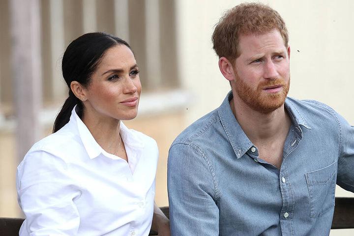 Prinz Harry und Herzogin Meghan 2018 bei einem Besuch in Australien.
